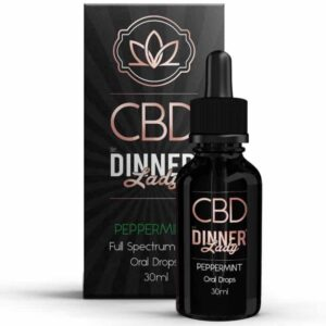 Dinner Lady CBD Oral Drops Peppermint