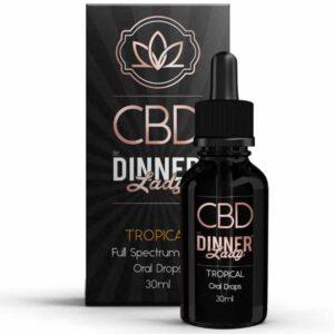 Dinner Lady CBD Oral Drops Tropical