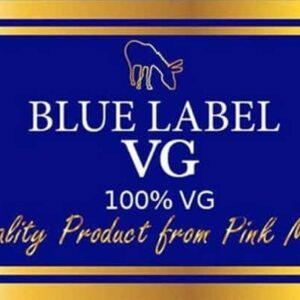 Pink Mule Blue Label 100% VG Re-bottled 100ml