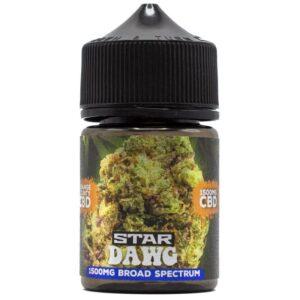 Orange County Star Dawg Kush Cali Range CBD E-Liquid 1500mg