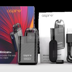 Aspire Minican+ Pod Kit 850mAh 3ml Semitransparent
